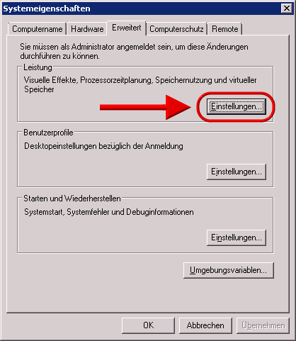 auslagerungsdatei windows 10 einstellen