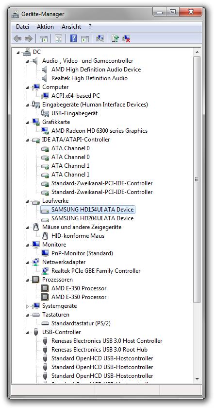 Windows 10 Datenträgerverwaltung