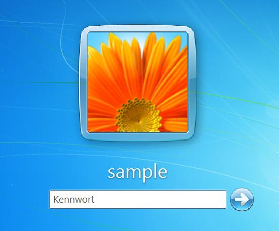 Windows Gr 246 223 E Des Benutzerbild Und Der Schrift Auf