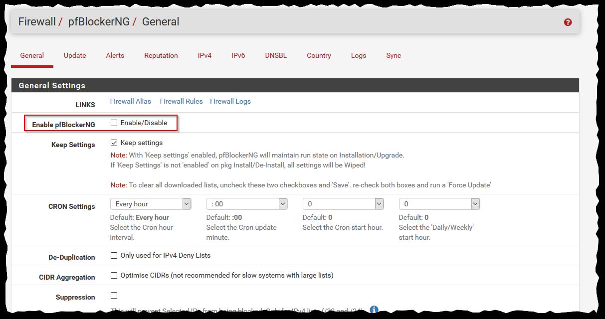 Pfsense - GeoIP Blocking auf bestimmte Ports oder Dienste IPv4 IPv6